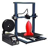 DERUC Geeetech A30 3D Drucker mit Super Grossem Bauraum:320?¨¢320?¨¢420mm und Power Failure Recovery,3.2??Vollfarb-Touch Screen,Gute Haftung auf dem Druckbett,Halb Montiertes DIY Kit.