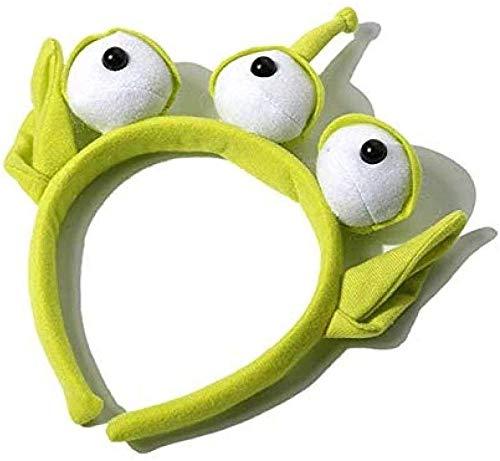 QIXIDAN Juguete de Peluche Novedad Toy Story Alien Ears Disfraz de Peluche Diadema Adultos nios Regalo de cumpleaos