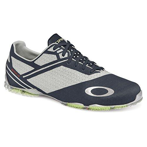 Oakley Men's Cipher 4 Golf Shoe, Grey/Black, 7 M US