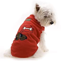 red dog jumpers - Hamish McBeth Red Sleeping Dog Pyjamas Fleece Jumper Size 4 (40cm)