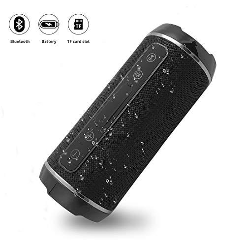 YOMYM Altavoz Bluetooth Bocinas Estéreo Premium 10W, Altavoz Inalámbrico Portátil...