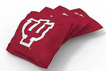 PROLINE 6x6 NCAA College Indiana Hoosiers Cornhole Bean Bags - Solid Design  A