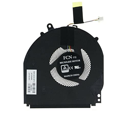 Replacement CPU Fan Compatible with HP Pavilion 14-DH 14M-DH 14T-DH Series, 14-DH0007CA 14-DH0008CA 14M-DH0001DX 14M-DH1001DX 14M-DH1003DX 14T-DH000 14T-DH100 Series Laptop L51102-001