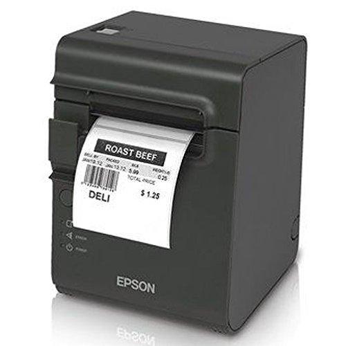 epson 3d printers Epson C31C412416 TM-L90 Plus Thermal Label Printer, USB/Serial Interface, Thermal Label, Without Peeler, with Power Supply, Dark Gray