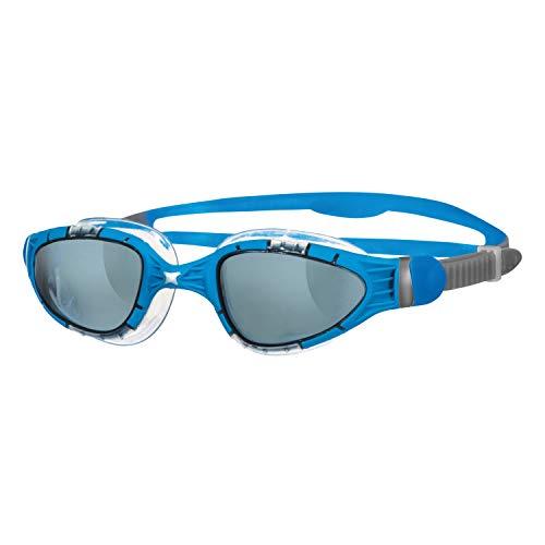 Zoggs Aqua Flex Gafas de Natación, Hombre, Azul / Negro, Única