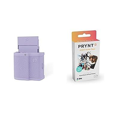 Prynt Pocket Lavender w/ Prynt ZINK Sticker Paper