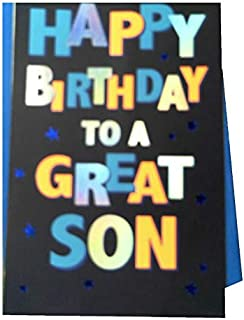 American Greetings Birthday Card for Son (Celebrate)