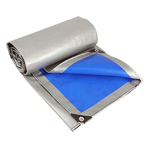 GOUDU Lona De Alta Resistencia - Resistente a Los Rayos UV - Polietileno Tejido Y Laminado Doble | 100% Impermeable 2mx10m