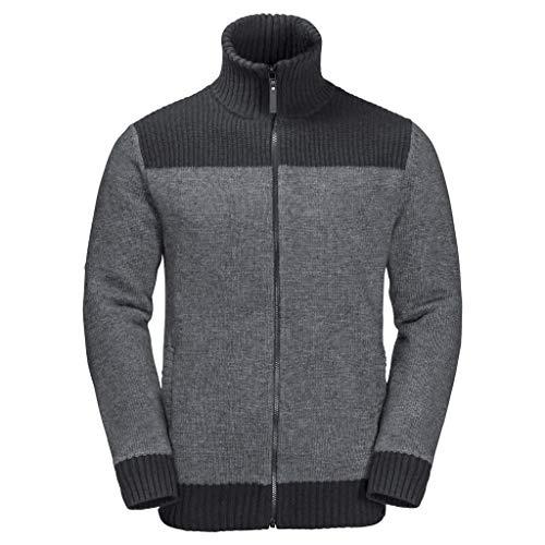 Jack Wolfskin Herren Northwind Jacket M Fleece-Sweatshirt, Phantom, XL