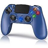 Mando para PS4, Mando Inalámbrico para Playstation 4 / PS4 Slim / Pro / PS3, 3D Sensores de Movimiento Panel táctil 3.5mm Puerto de Audio Bluetooth Gamepad Joystick