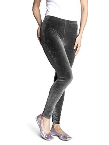 SOXON Nicki-Hose - Die flauschige Wohlfühl-Hose für jeden Tag (L/XL, Grau)