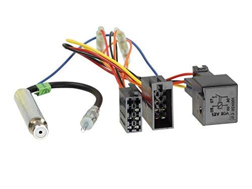 ACV 1321-48 Radioanschlusskabel für Audi/Seat/Skoda/VW (Relais, Phamtomeinspeisung, DIN)