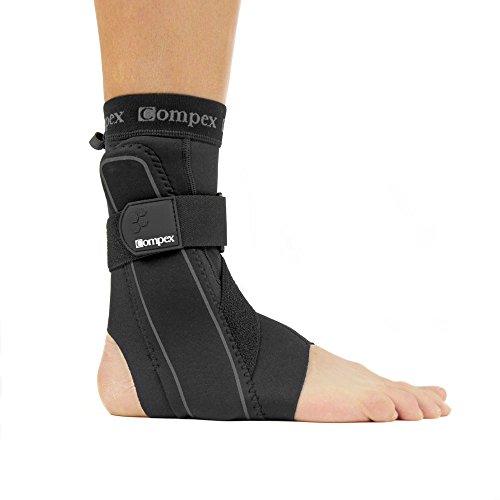 Compex Bionic Fibulo-Tape links schwarz Größe S