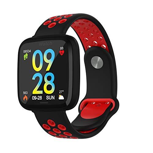YANGPANGZI Color screen touch smart bracelet exercise meter step heart rate blood pressure sleep health monitoring Bluetooth smart reminder bracelet