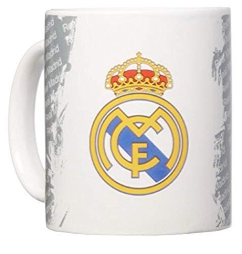 Real Madrid Tasse – Offizieller Kaffee-/Teebecher – perfektes Real Madrid Geschenk – importiert – für Männer und Frauen – hochwertiges Team Wappen Design