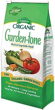 Espoma Garden-Tone Plant Food Natural & Organic Fertilizer for an Abundant Harvest 4 lb Pack of 1