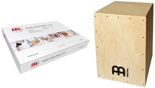 Meinl Percussion MYO-CAJ - Cajón de madera con parche natural, Kit...