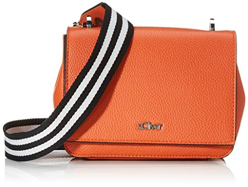 s.Oliver (Bags Damen 39.002.94.8790 Tasche Umhängetasche, Orange (Orange), 8x13.5x19 cm