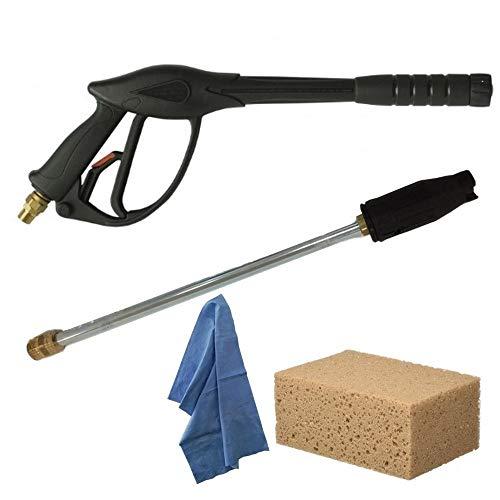 F.P.Distribuzioni Lavorwash Kit Ricambi, Pistola Al15 con Attacco 3/8\'\' - M22, Lancia Getto Regolabile, Accessori Idropulitrici