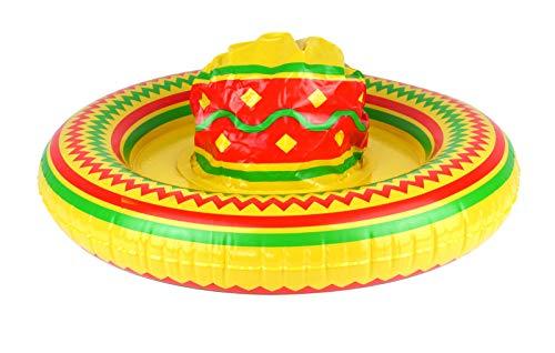Labreeze 53 cm aufblasbarer Sombrero-Hut mexikanisches Kostümzubehör Fiesta Bandit