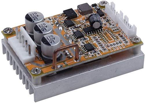 DIANLU17 BLDC 5-36V sin escobillas sin escobillas Tablero de control de control del motor Regulador del motor Monitor del controlador de velocidad de alto potencia 350W Módulo del controlador de veloc