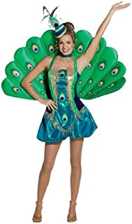 Rasta - Disfraz de pavo real para mujer, talla M (140367