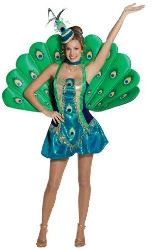 Rasta - Disfraz de pavo real para mujer, talla M (140367)