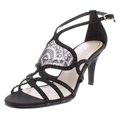Caparros Quantum Evening Sandals Women's Shoes Black 5M