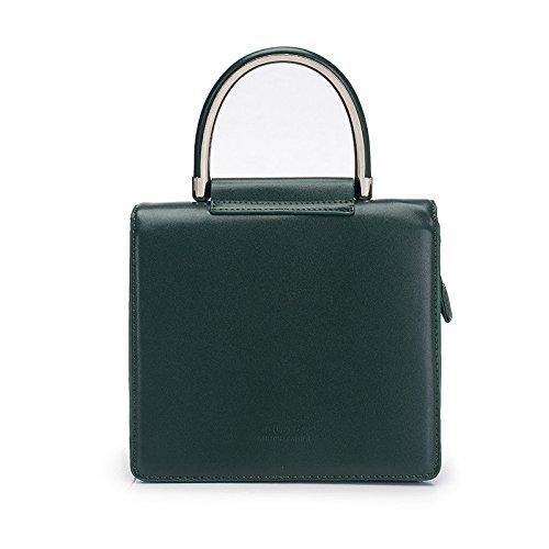 MDRW-dames tas mode schoudertas handtas eenvoudige sfeer vierkant grote capaciteit lady tas