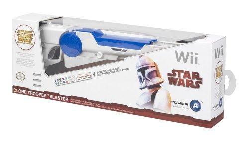Wii - Clone Wars Blaster - 37CLOBL2