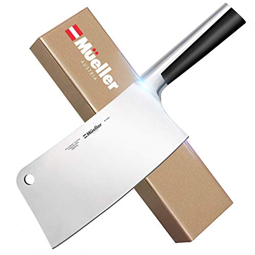 Mueller 7-inch Meat Cleaver Knife