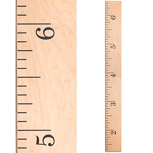 Product Image of the Growth Chart Art   Hanging Wooden Height Growth Chart to Measure Baby, Child,...