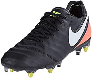 Tiempo Legend VI SG-Pro Anti Clog Traction Soccer Sz 8.5 Black 869483-018
