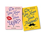 Do You Know Your Wife/Husband Gift Set: See Who Knows Who Best with a Couples Activity Book Featuring 200 Questions (Funny Anniversary Gift for Husband/Wife, Date Night, Wedding Gift, Couples Gift)