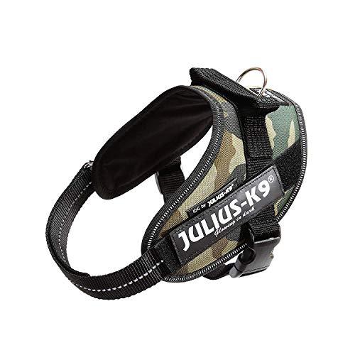 JULIUS-K9 Arnés JULIUS-K9 IDC, Mini/M, 49–67 cm/22 mm, Camuflaje, Perro