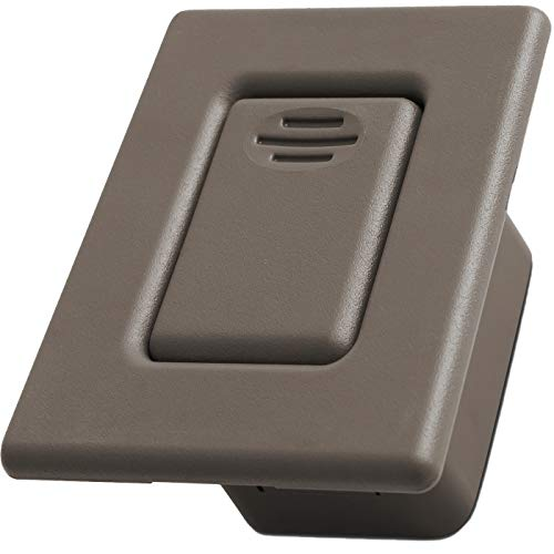 Seat Back Latch Release Handle - Best for Folding Rear Row Bucket Fits 00-06 Silverado, Tahoe, Avalanche, Suburban, Sierra, Yukon, Escalade - Replaces GM 88937926 Button Lock Cover Accessories, Beige