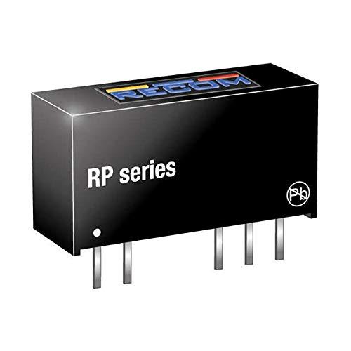 RECOM RP-0515D Nbr CC/DC Wandler für Leiterplatten Ausgang: 2 x 5 V/DC 15 V/DC, -15 V/DC 33 mA 1 W 1 Stück (s