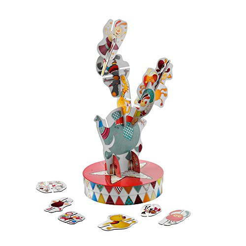 Lilliputiens - 86438 - Equilibrius jeu d'empilage - Cirque