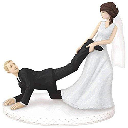 Leg Puller Cake Topper