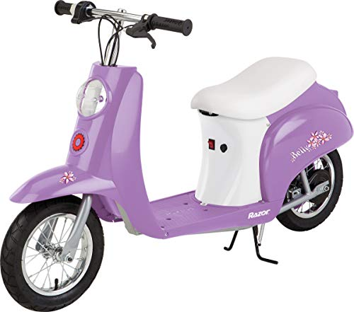 Razor Pocket Mod Betty Miniature Euro-Style Electric Scooter for Ages 13+, Vintage-Inspired Design, Up to 40 Minutes Ride Time