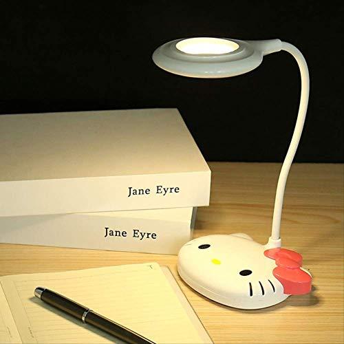 Hellokittyled Charge Table Lampe Kitty Enfants Apprennent Lampe De Chevet Kt Chat Chambre Nuit Lampe Cadeaux