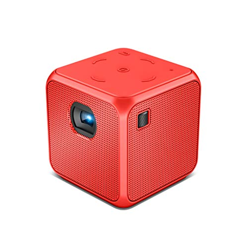projector Pocket Mini, Support 1080p HD Decoding, ±45° Keystone Correction, Outdoor Movie With Built-in 4500mAh Large Capacity Battery, Compatible With Smart Phones GH