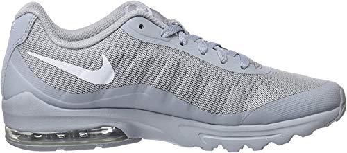 Nike Herren Air Max Invigor Laufschuhe, Grau (Wolf Grey/White 005), 42 EU