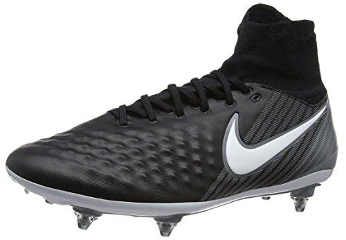 Nike Herren Magista Orden II SG Fußballschuhe, Schwarz (Black/White-Dark Grey-Stadium Green), 45 EU