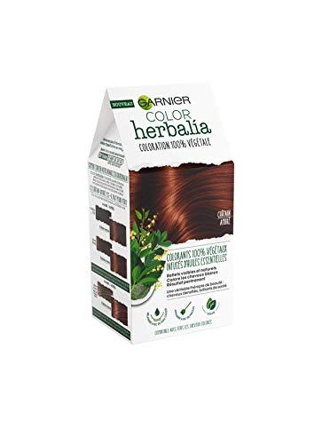 puissant Garnier Color Herrier – 100% Colorant à base de plantes – Brun ambré –