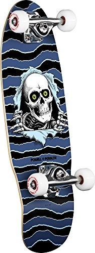 Powell Peralta Cruiser Micro Mini Ripper 067.5x 2, Skateboard completo multicolore 7,5x 2