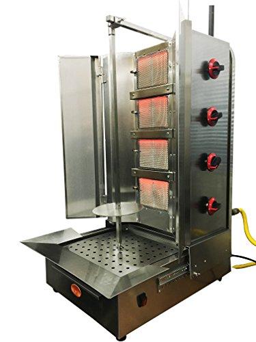 Shawarma machine- gyro machine-tacos al pastor machine- doner machine-...
