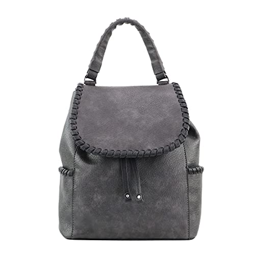 Concealed Carry Purse - Madelyn Backpack by Lady Conceal (Gray)