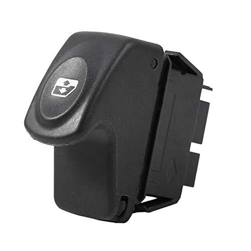 zhuzhu Interruptor de Ventanas de energía eléctrica del automóvil Fit para Renault Clio 2 II Megane Kangoo Scenic