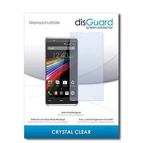 disGuard Bildschirmschutzfolie für Energy Sistem Phone Pro Qi [3 Stück] Crystal Clear, Kristall-klar, Unsichtbar, Extrem Kratzfest - Bildschirmschutz, Schutzfolie, Glasfolie, Panzerfolie